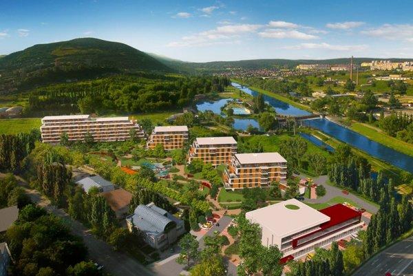Nový komplex pri Aničke. Zo 120 bytov má 24 Hreha.