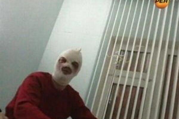 Sergej Filin v nemocničnej izbe.