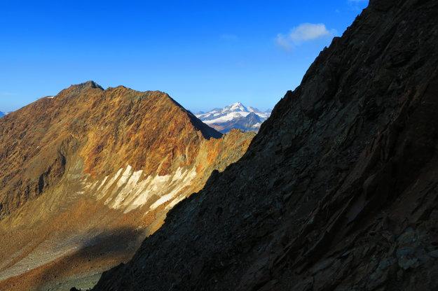 Posledný pohľad do doliny, z ktorej ideme.
