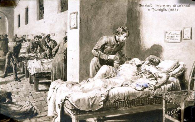 Cholera dodnes často končí úmrtím pacienta.