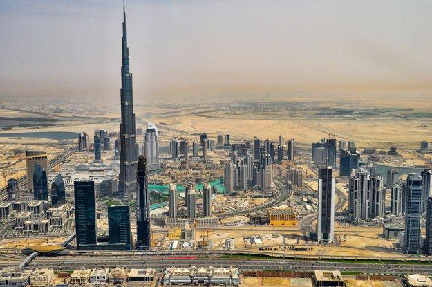 Najvyššia budova sveta Burj Khalifa