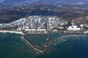 Fukušima na zábere z vrtuľníka.