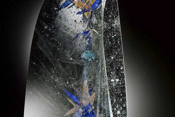 Jedno z diel sklára Zoričáka.