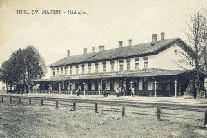 Stanica v Turč. sv. Martine.