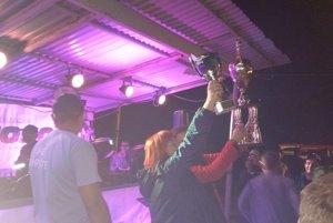 Horná Poruba s víťazným pohárom.