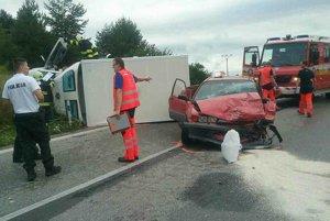 Na mieste nehody.