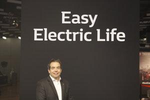 Riaditeľ pre program elektromobility Renaultu Eric Feunteun