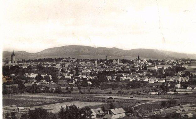 Pohľad na mesto Prešov.