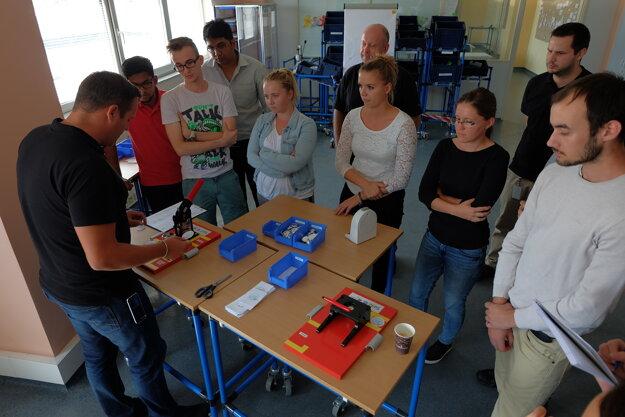 Tréning tímovej spolupráce v ZF PS.