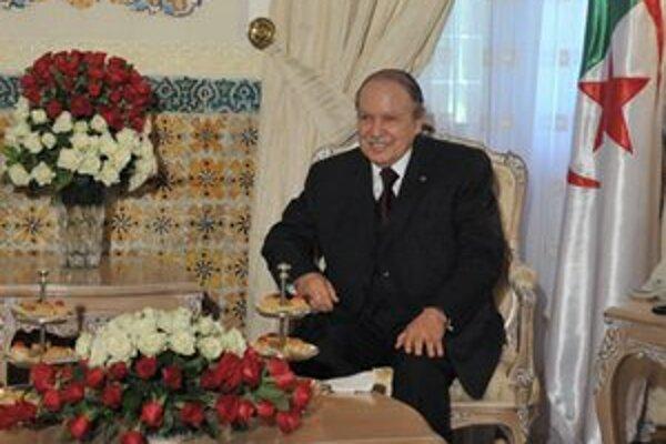 Prezident Abdal Azíz Buteflika.
