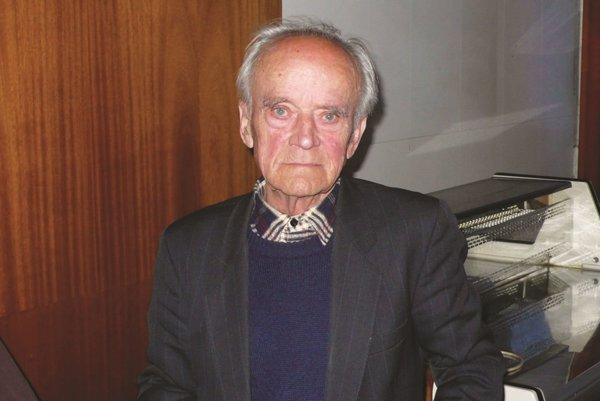 Ján Mertoš - účastník SNP. Rok 2007.