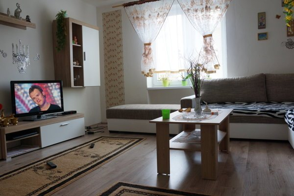 Jeden z bytov, ktorý musia Rómovia z Moldavy nad Bodvou opustiť.