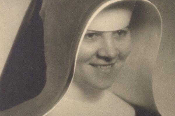 Sestra Zdenka Schelingová.