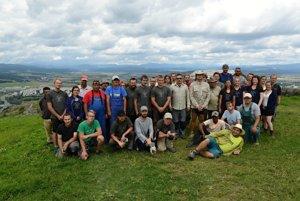 Spoločná fotografia pracovného tímu na konci júla.