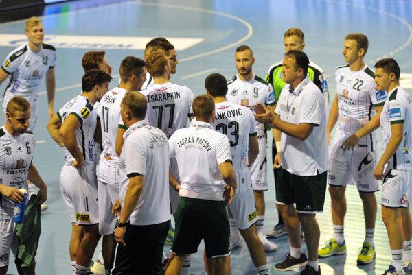 Hádzanári Tatrana Prešov si v skupinovej fáze Ligy majstrov nezahrajú.