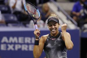Madison Keysová zdolala CoCo Vandeweghovú a postúpila do finále US Open 2017.