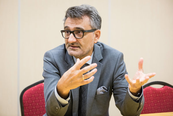Riaditeľ Spoločného výskumného centra pri Európskej Komisii Vladimír Šucha.