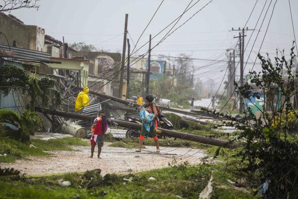 Irma spustošila časť Kuby.