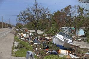 Irma spôsobila rozsiahle škody.