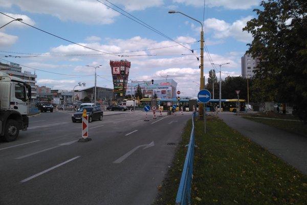 Toryská ulica.