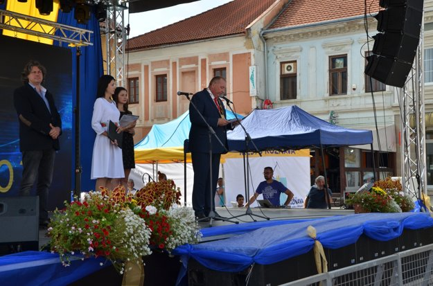 Oslavy Dní mesta Rožňava otvoril primátor P. Burdiga.