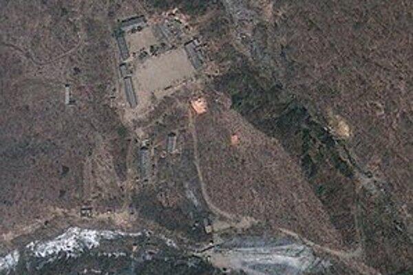 Testovací areál pri meste Pchung-kje-ri.