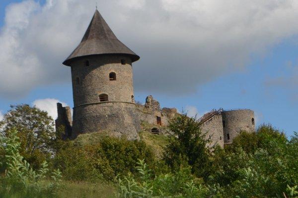 Hrad Šomoška v Novohrade.