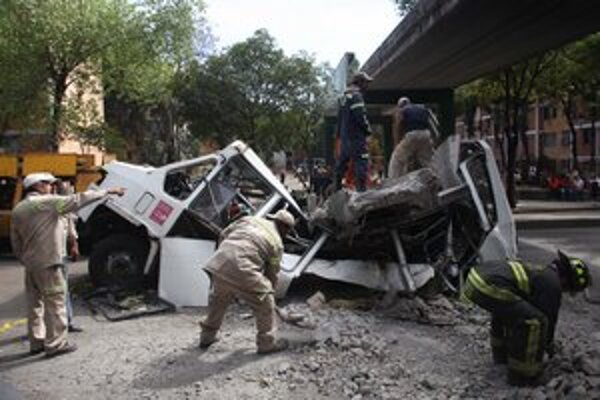 Mexico City zažije denne aj niekoľko otrasov, ktoré ľudí vystrašia. Zatiaľ sa to obišlo bez obetí, len s menšími materiálnymi škodami.