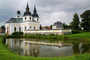 Kostel sv. Václava ve Zvoli.