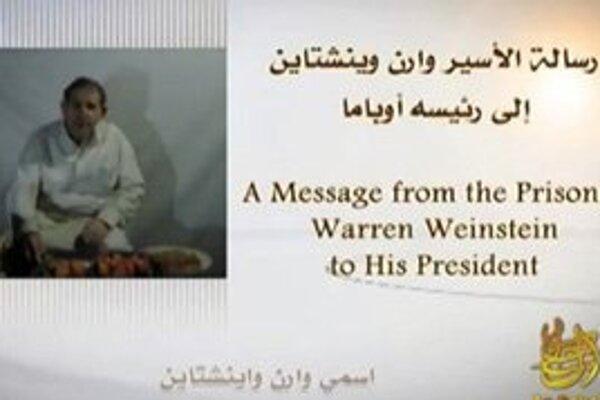 Warren Weinstein na zverejnenom videu.