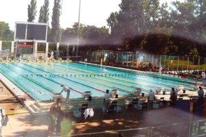 Bazény v Budapešti.