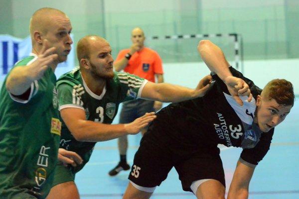 Vladimír Buvala (na ilustračnej snímke) strelil nováčikovi päť gólov