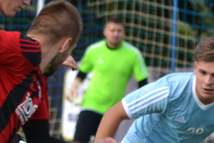 Hrdinom zápasu Hrušovanu - Svätý Peter bol hosťujúci brankár Bilkó.