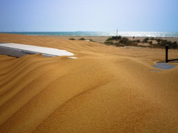 V Ras Al Khaimah si môžete dokonale užiť piesok a duny.