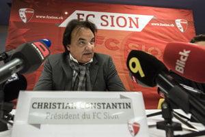 Christian Constantin sa postaral o škandál.