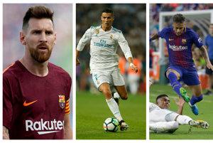 Messi - Ronaldo - Neymar - Kto z nich sa stane najlepším futbalistom sveta?