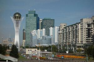 Astana je Dubaj Strednej Ázie