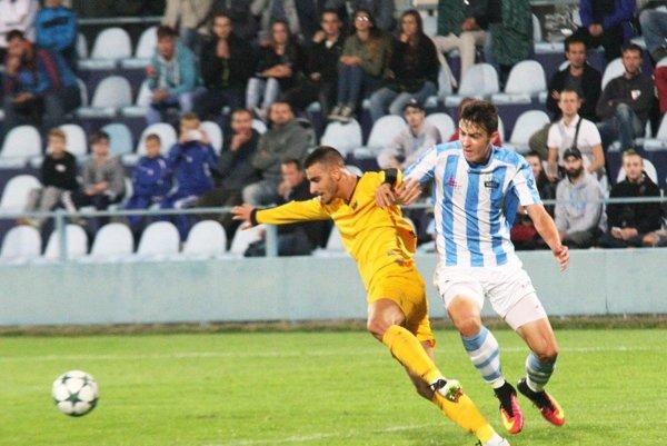 Marek Fábry je jedným z tých hráčov FC Nitra, ktorí si zahrali aj pred rokom proti španielskej Malage.