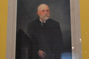Ján Fábry, bývalý riaditeľ múzea.