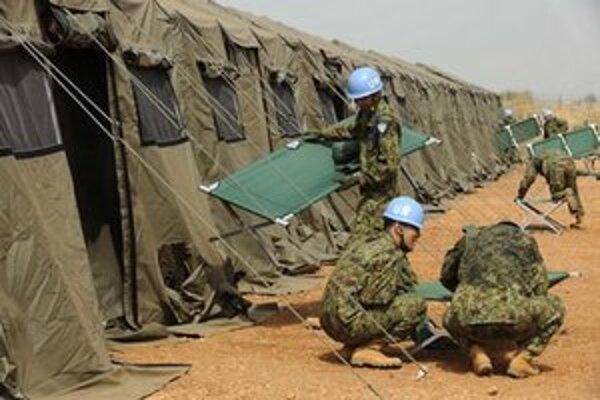 Tábor pre juhosudánskych utečencov.