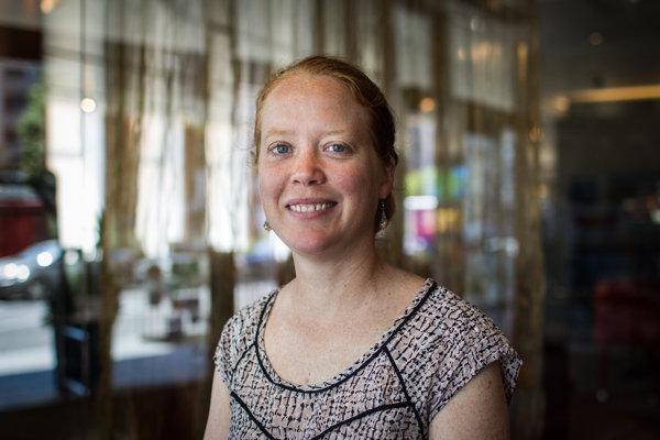 Inge Sturkenboomová vystúpila v Bratislave na vzdelávacom seminári EMN, ktorý organizovala Medzinárodná organizácia pre migráciu.