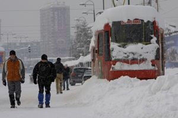 Situácia v hlavnom meste Bosny Sarajeve.