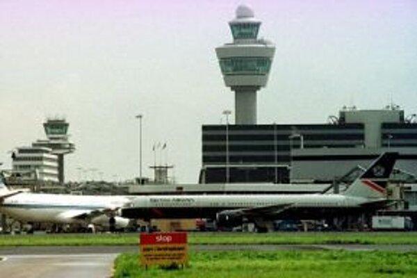 Amsterdamské letisko Schiphol.