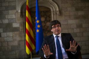 Katalánsky premiér Carles Puigdemont.