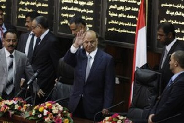 Nový jemenský prezident Hádí.