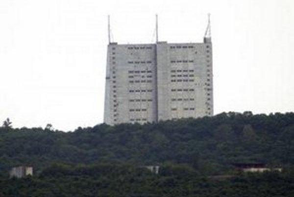 Radarová stanica v Gabale.