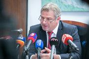 Predseda predstavenstva spoločnosti MH Manažment Branislav Bačík.