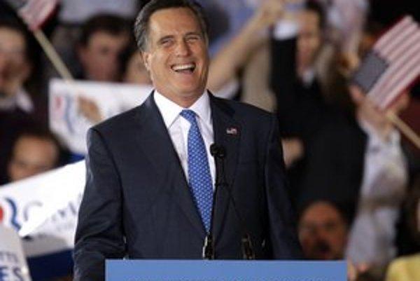 Aj po superutorku je vo vedení Mitt Romney.