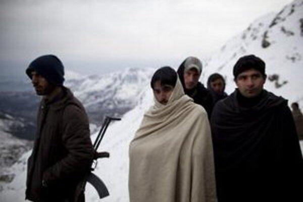 Sneh v Afganistane.