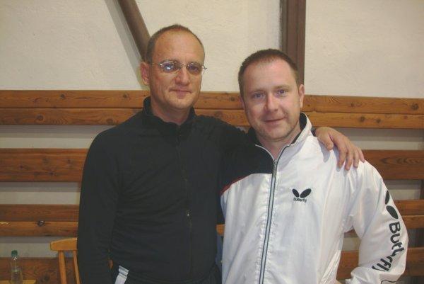 Zľava Peter Horváth a Ľuboš Voliar.